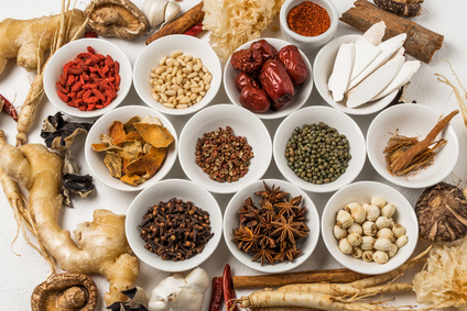 薬膳 漢方 健康食 Chinese medicine with medicinal herbs